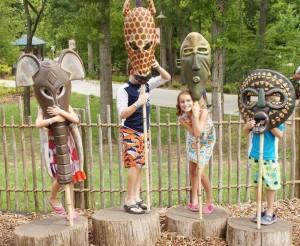 trails of africa masks kids
