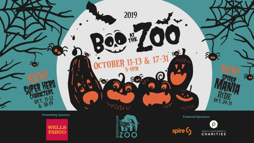 boo at the zoo birmingham 2020