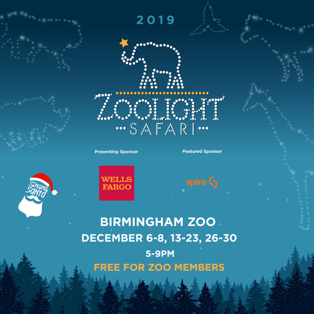 Wells Christmas Lights 2020 26th Annual ZooLight Safari presented by Wells Fargo at the